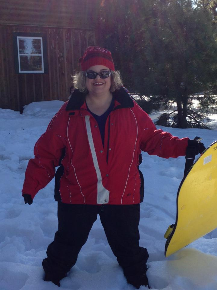 Beautiful Skier Plus Size Ski Clothing Affatshionista