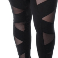 Plus Size Tights, Leggings & Jeggings - Size 4X +