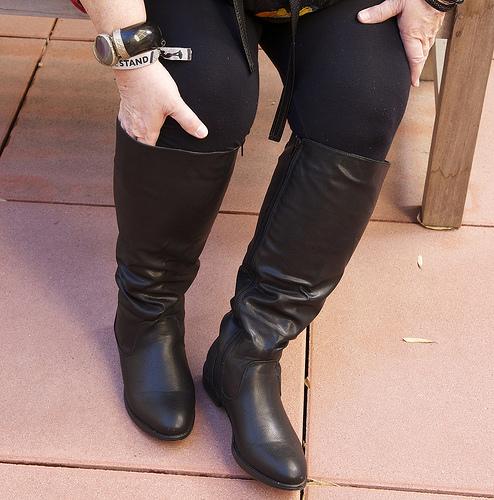 Avenue Lace Boots - Size 9.5