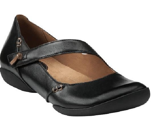 Clarks Womens Felicia Plum Casual Shoe - Size 9.5 C/D