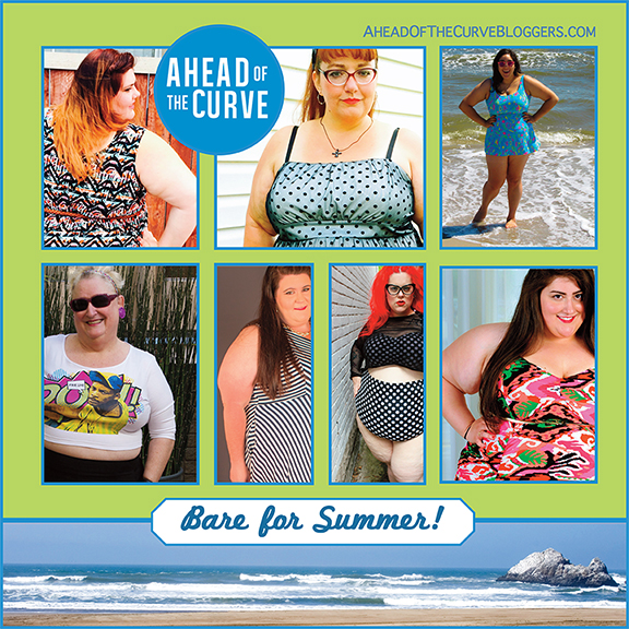 d12ae1993d3 We are a plus size blogging collective that comes together once a month to  post on a fashion theme. Please follow us to Ahead of the Curve to check  out how ...