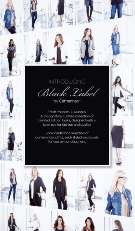 CATHERINES BLACK LABEL PROMO