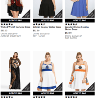 Plus Size Costumes 4X to 9X!