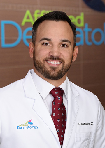 dustin mullens affiliated dermatology