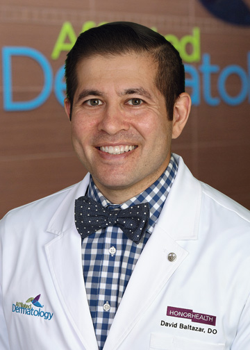 David Baltazar, DO affiliated dermatology