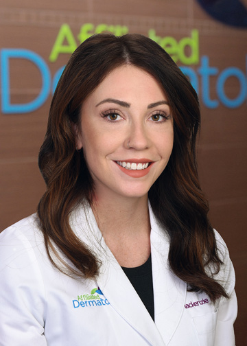 Mackenzie Morrow, NP affiliated dermatology