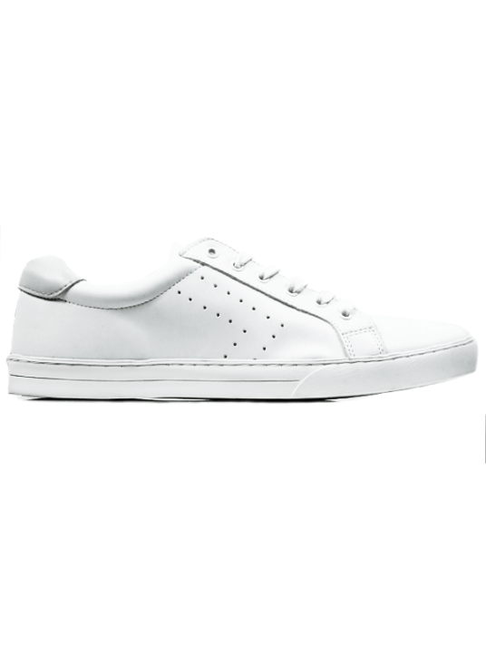 Baskets NEW YORK WHITE de chez Wills Vegan Shoes à 98$