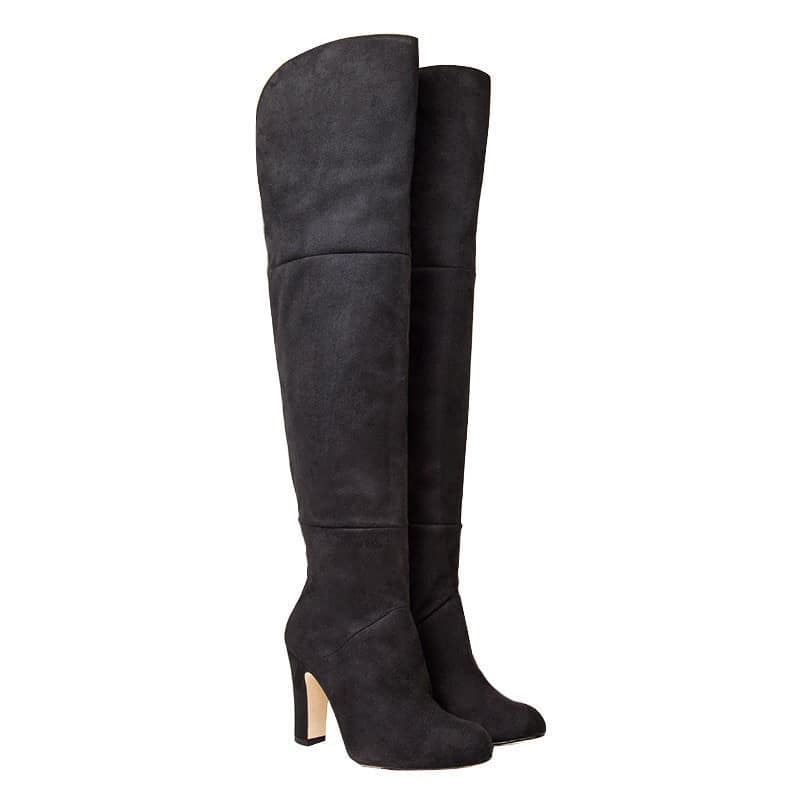 ELF BOOTS à 300€ de chez BeyondSkin : http://www.beyondskin.co.uk/womens/elf-black-high-over-knee-boots.html