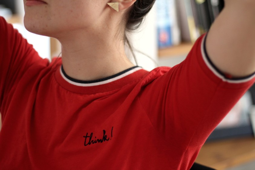 Look éthique : tee-shirt Think