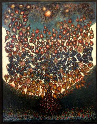 Senlis_(60),_musée_d'art_et_d'archéologie,_Séraphine_Louis,_L'arbre_de_vie_(1928)