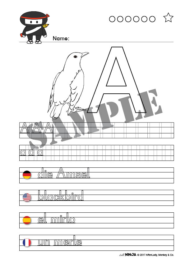 Animals A-Z • German 12