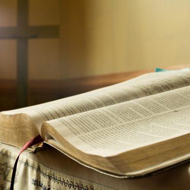 Bible in Prayer Room