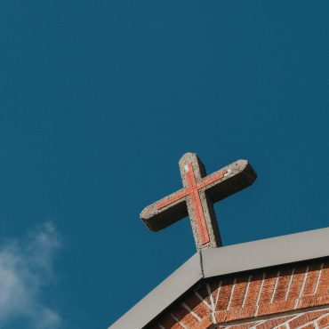 brown concrete cross