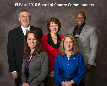 El Paso 2016 County Commissioners