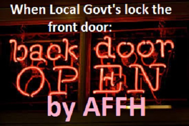 Back Door Open by AFFH