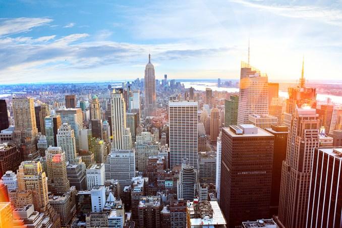 ニューヨーク・マンハッタン