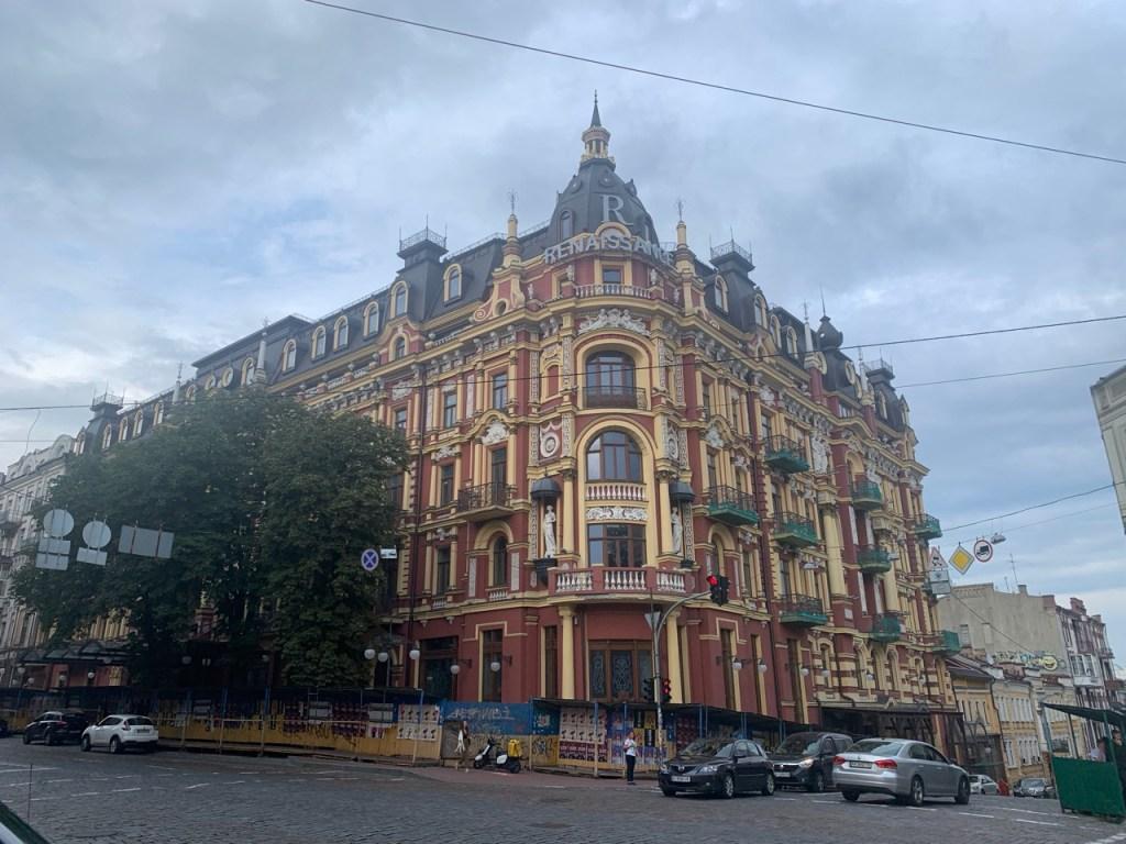 ウクライナ・キエフの街並み5