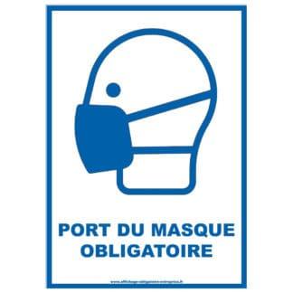 Affiche De Port Du Masque Obligatoire Gratuite