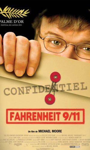 affiche du film Fahrenheit 9/11 1/2