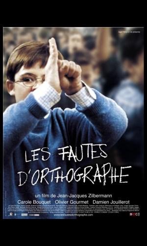 affiche du film Fautes d'orthographe