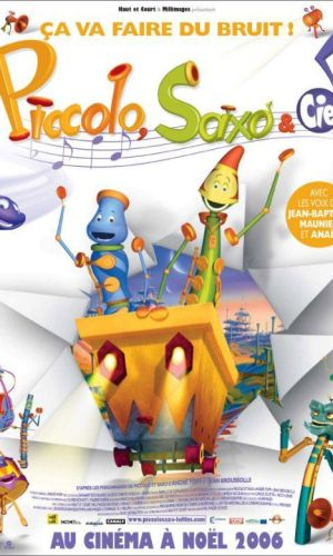 Affiche de cinéma Piccola, Saxo et compagnie
