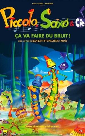 Affiche de cinéma Piccolo, Saxo et compagnie