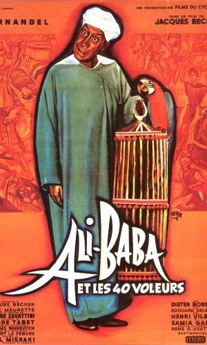 Affiche de cinéma Ali Baba et les 40 voleurs