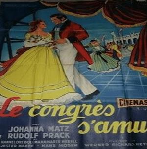 Affiche du film Le congrès s'amuse