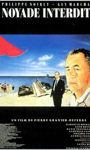 Affiche de cinéma Noyade interdite