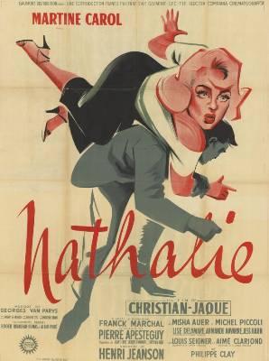 Affiche de cinéma Nathalie