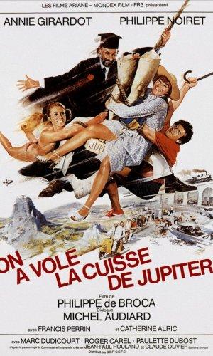 Affiche de cinéma On a volé la cuisse de Jupiter