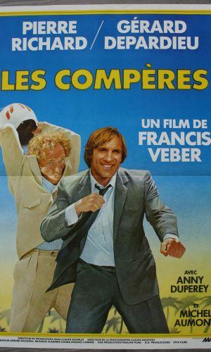Affiche de cinéma Les Compères