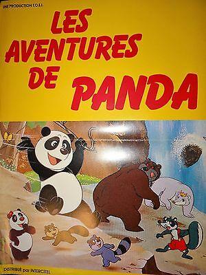Affiche de cinéma Les aventures de Panda