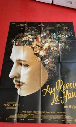 Affiche de cinéma Au revoir, là haut