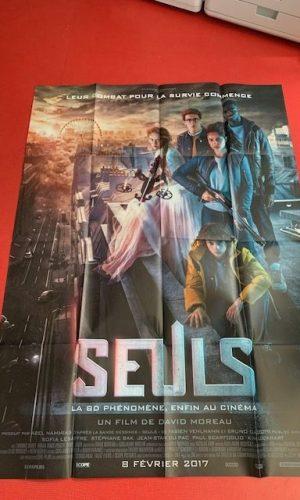 Affiche de cinéma Seuls