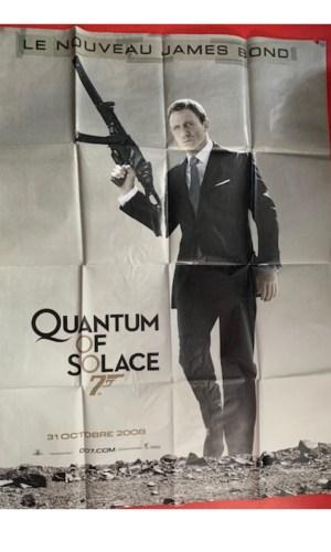 Affiche de cinéma Quantum of solace