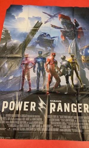 Affiche de cinéma Power Rangers