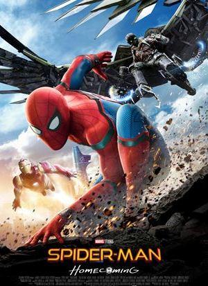 Affiche de cinéma Spider man Home coming 2017