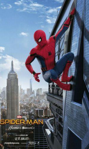 Affiche de cinéma Spider man Home coming