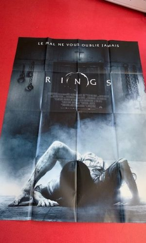 Affiche de cinéma le cercle rings