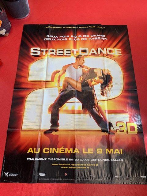 affiche de cinéma STREET DANCE 2