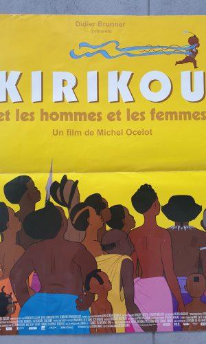 """Affiche film """"Kirikou et les hommes et les femmes"""""""