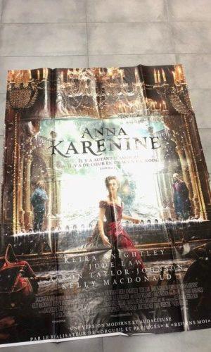 """Affiche du film """"Anna Karenine"""" (2012) 120*160 cm"""