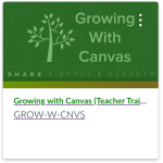 Growing with Canvas screenshot