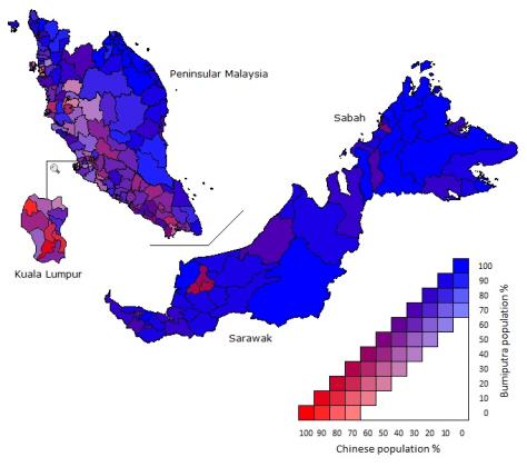 Malaysia Racial Distribution