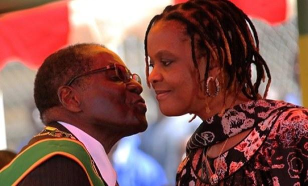 Robert & Grace Mugabe