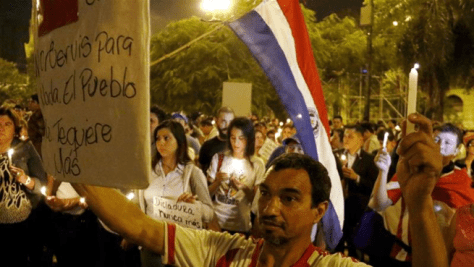 paraguay protest