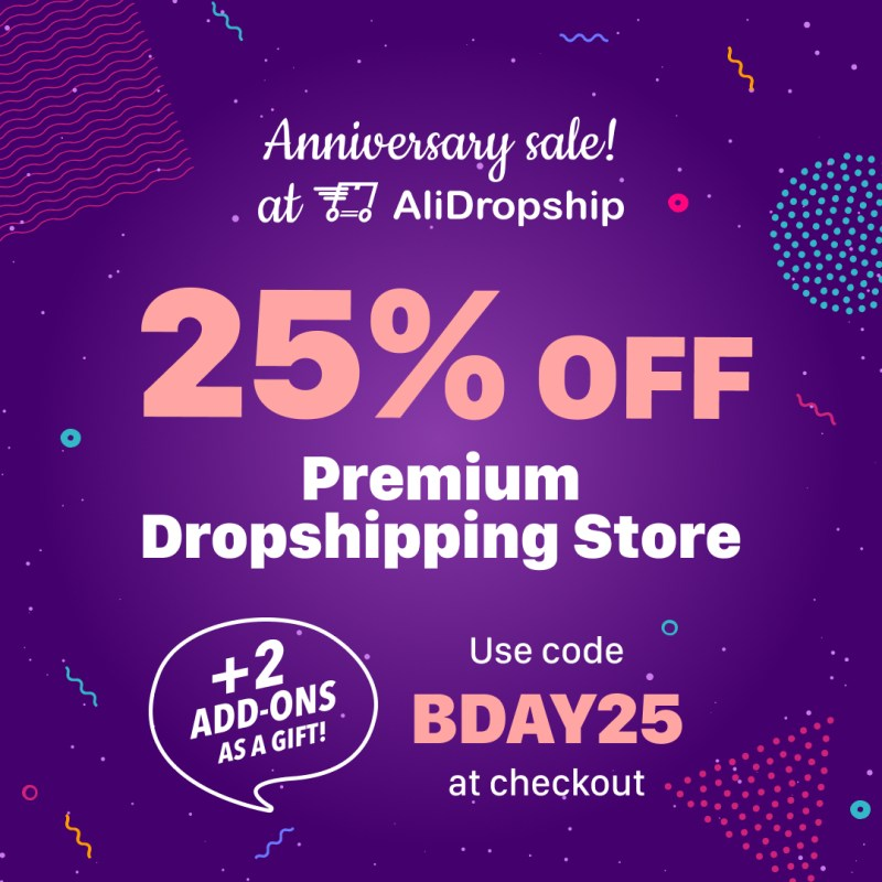 25% OFF ready-made Premium Stores