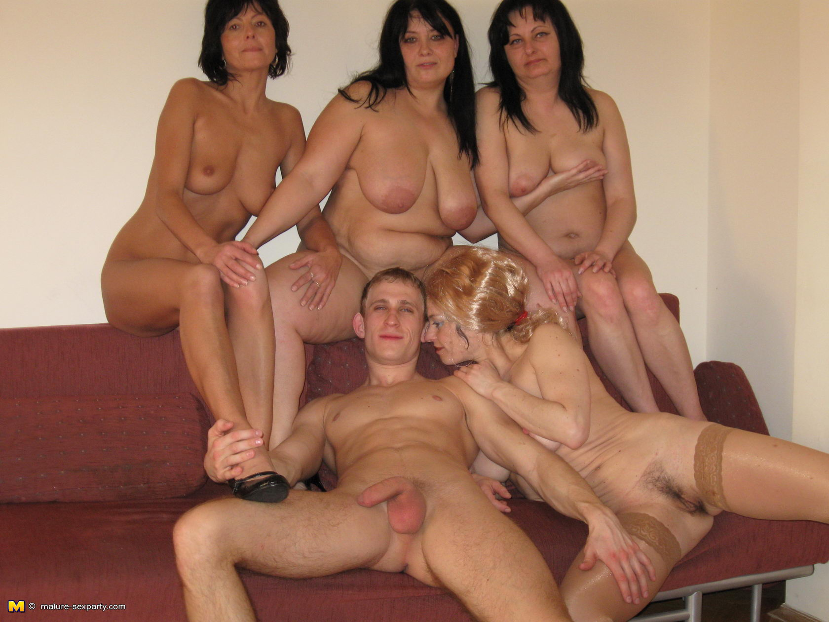 Family sex party
