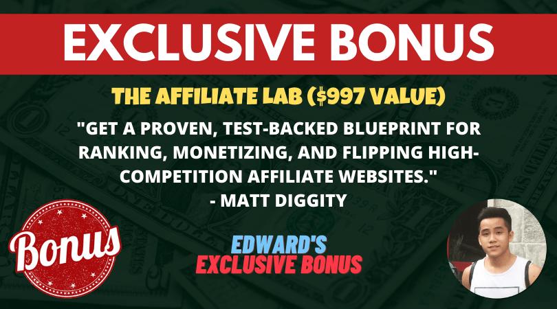 bonus the affiliate lab